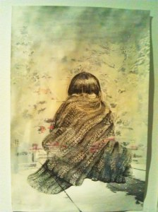 grace in blanket - japanese back