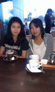 coffee with grace and yumi