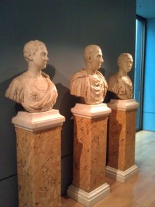 mn busts in gallery