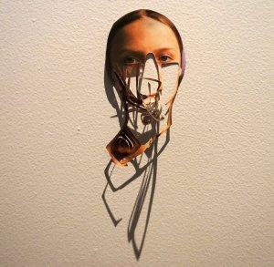 cutout face march