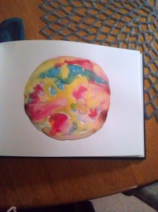 watercolour circle
