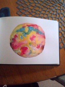 watercolour circle