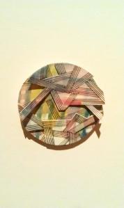 d abstract circle