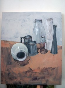 still life in progress