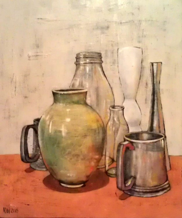 Still life with pewter 2