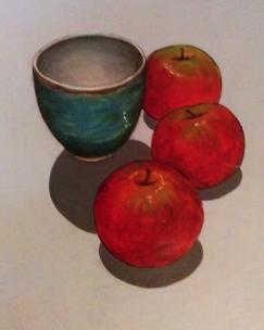 apples 3 green