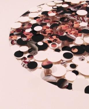 paper circles detail 3d